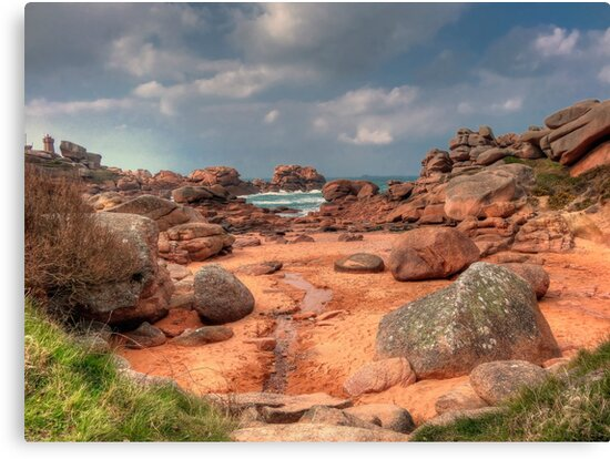 The pink granite... by jean-jean