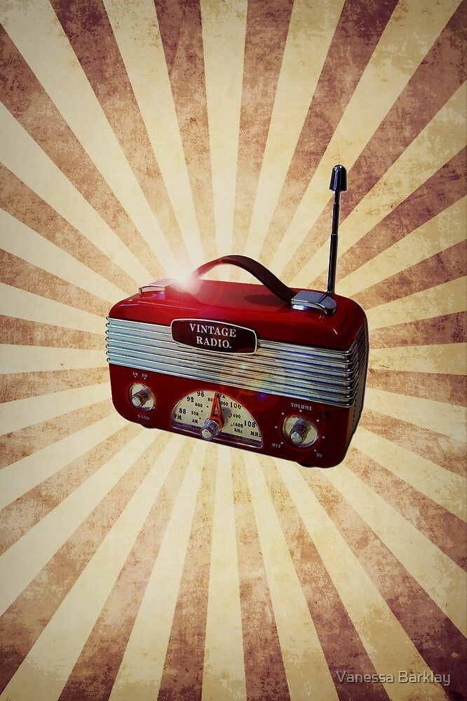 Turn Up Your Radio by Vanessa Barklay
