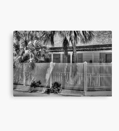Under the Tropical Sun in Nassau, The Bahamas Canvas Print