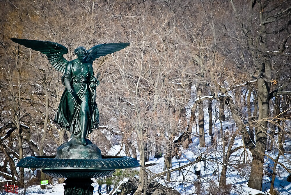 Bethesda Fountain by Gustavo Bernal