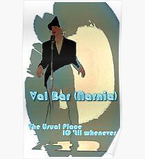 Val Bar (Narnia) flyer Poster
