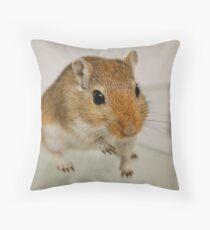 Gerbil cuteness Throw Pillow