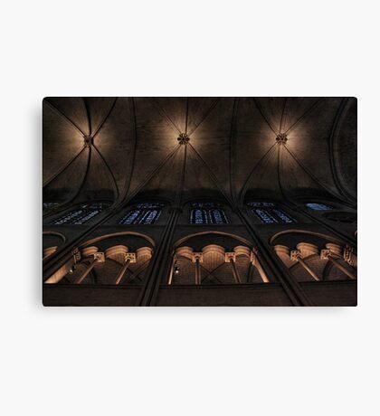 Ceiling symmetry Canvas Print