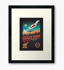 Crazy Ivan Framed Print