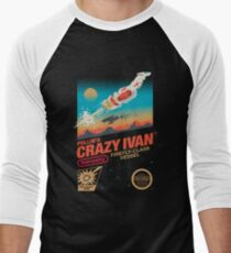 Crazy Ivan Men's Baseball ¾ T-Shirt