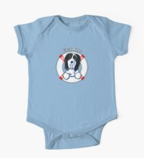 Bearded Collie :: First Mate One Piece - Short Sleeve