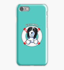 Bearded Collie :: First Mate iPhone Case/Skin