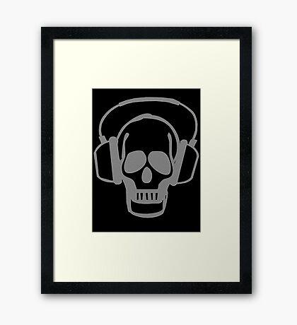 Skull rocker  Framed Print