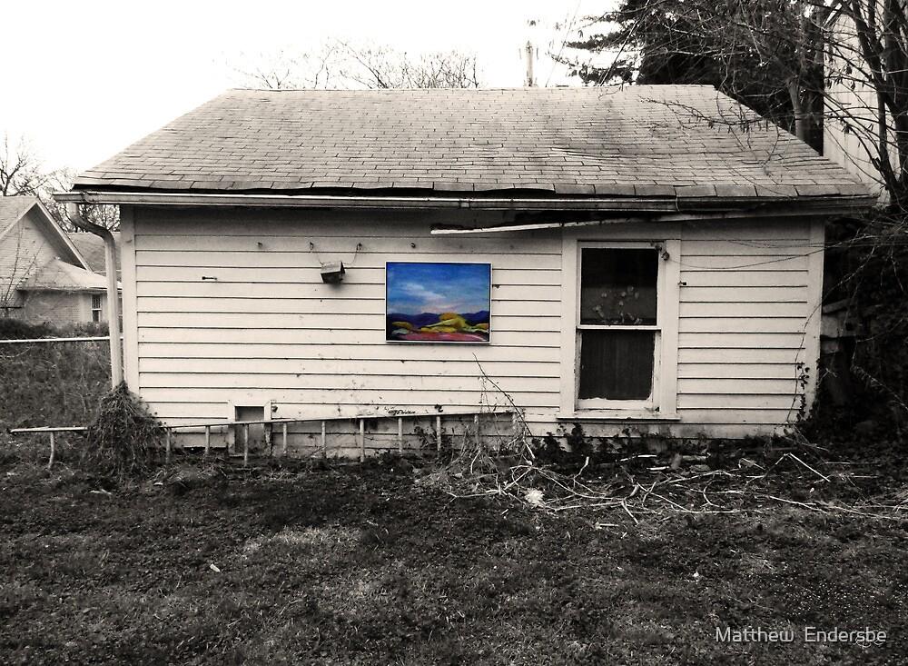 Pretty Paintings, Ugly Places VI-II by Matthew  Endersbe