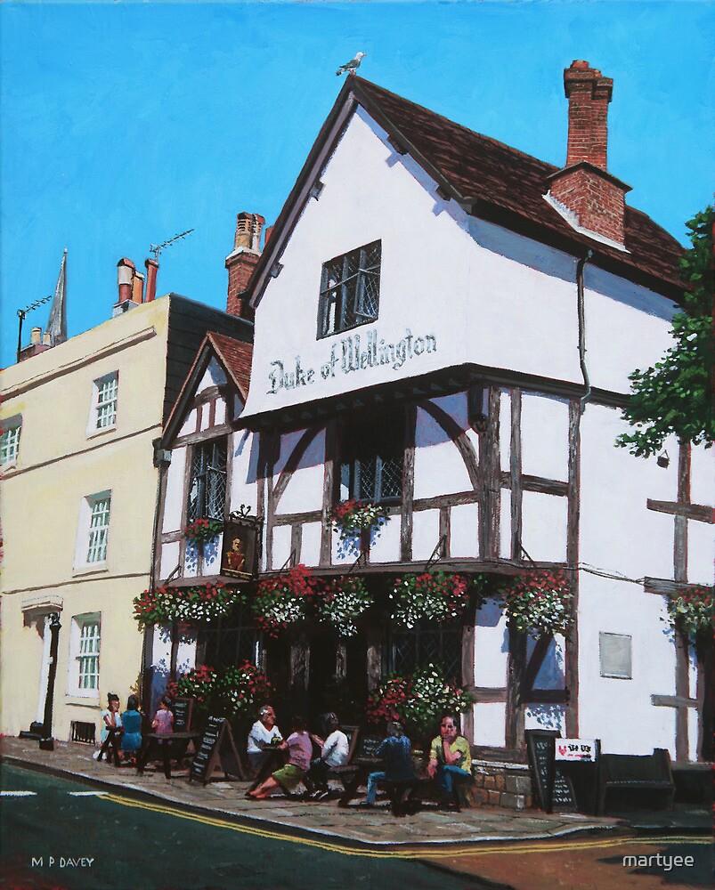 Duke of Wellington Tudor pub Southampton by martyee