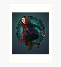 Amy and the Pandorica (Doctor Who) Art Print