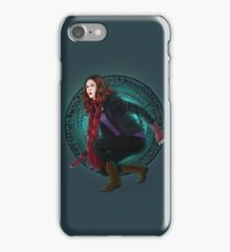 Amy and the Pandorica (Doctor Who) iPhone Case/Skin