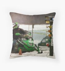 Staging Tree Throw Pillow