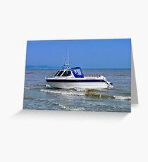 Boat Greeting Card