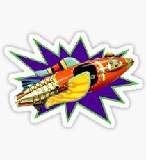 Buck Rogers Ship Sticker