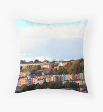 Bristol Landscape  Throw Pillow