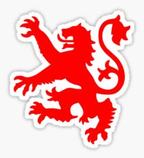 Scottish Lion Sticker