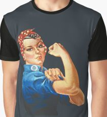 Rosie the Riveter Graphic T-Shirt