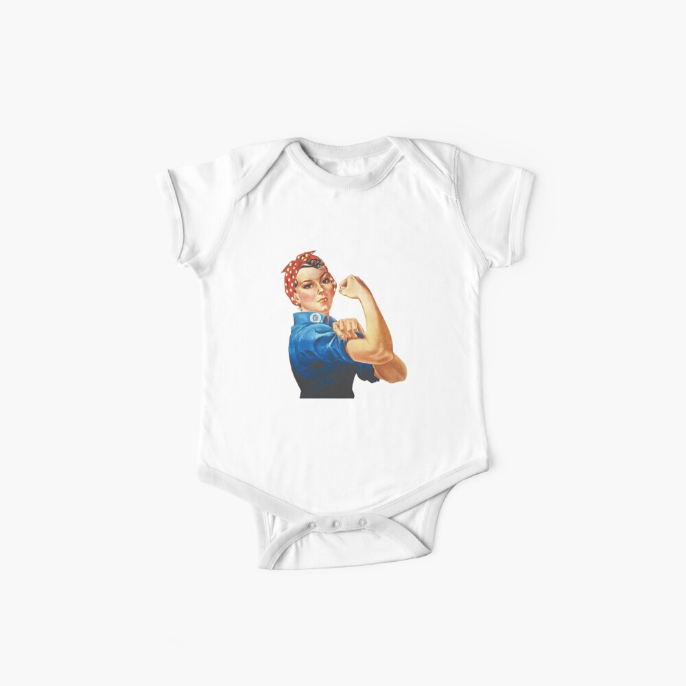 Rosie the Riveter Baby One-Piece