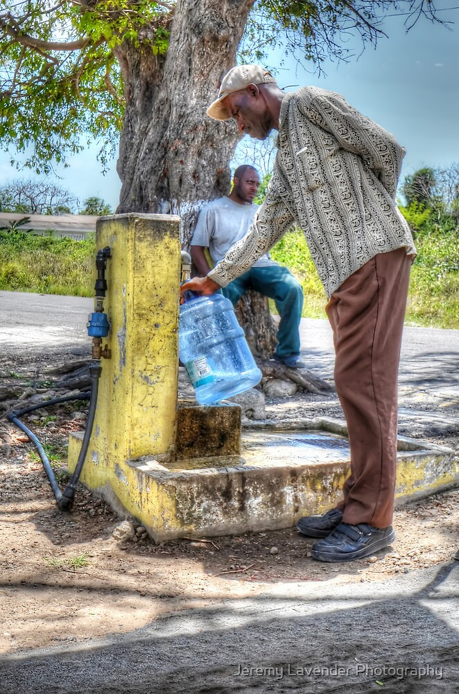 Public Water Pump in Fox Hill Village - Nassau, The Bahamas by Jeremy Lavender Photography