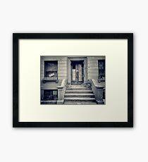 Saint Nicholas, Harlem N.Y.C Framed Print