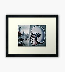 Speed Racer, N.Y.C Framed Print