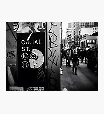 Canal Street, N.Y.C Photographic Print
