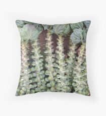 Brussels Spouts Throw Pillow