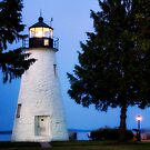 Concord Point Light Havre de Grace, MD by KellyHeaton