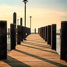 Havre de Grace, MD Pier by KellyHeaton