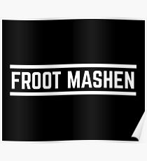 Froot Mashen white Poster