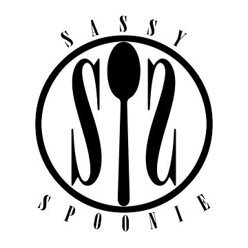 Sassy Spoonie (Black) by ouchapparel