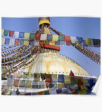 Boudnath Stupa Poster