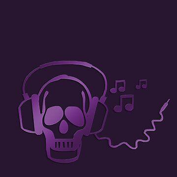 Skull rocker by fuxart