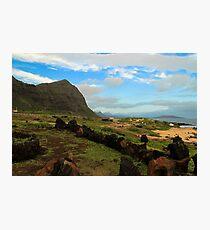 Oahu Photographic Print