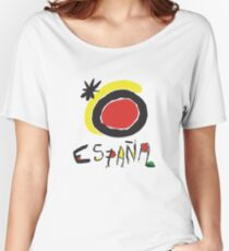 Spain - España  Women's Relaxed Fit T-Shirt