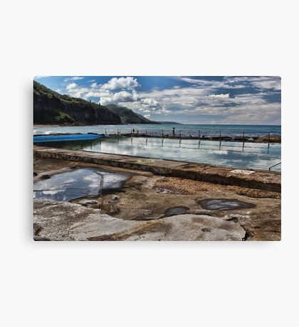 Coalcliff Ocean Pool Canvas Print