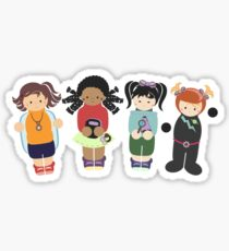 Adventure Girls Sticker