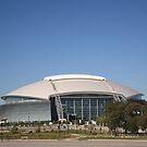 Dallas Cowboys Stadium by Frank Romeo
