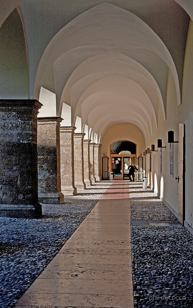 Arched Hallway by phil decocco