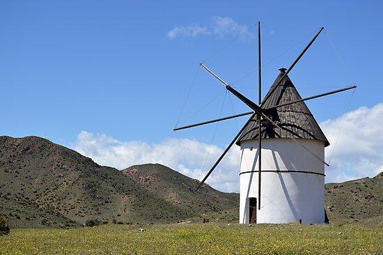 Windmill, San José by SpainBuddy