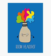 boom headshot Photographic Print