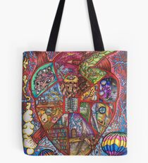 Vivisection of This Artist's Heart Tote Bag