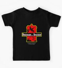 Dinosaurs on a Spaceship Kids Clothes