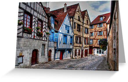Medieval street by Adri  Padmos