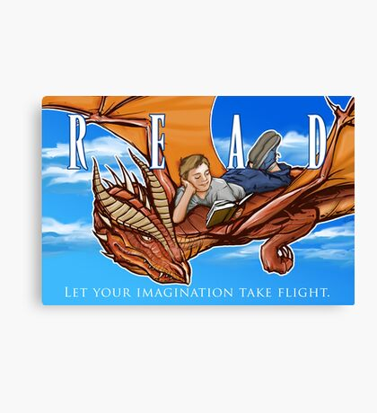 Imagination Take Flight Canvas Print
