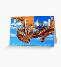 Imagination Take Flight Greeting Card