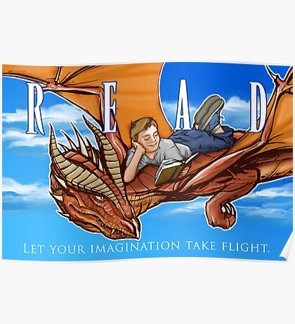 Imagination Take Flight Poster