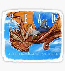 Imagination Take Flight Sticker