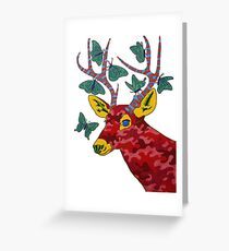 That Which Likened to Itself is Drawn Greeting Card